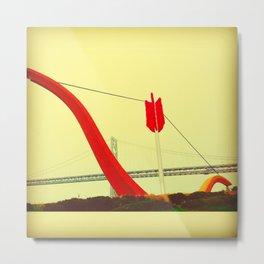 Cupid's Bow Metal Print