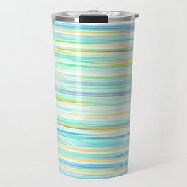 glitch_abstract Travel Mug