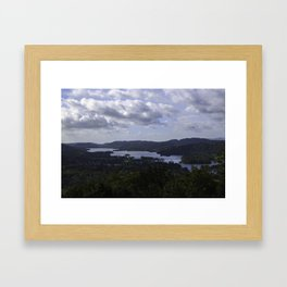 Lake Windermere, View from Orrest Head - Landscape Photography Framed Art Print