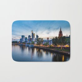 Frankfurt Skyline Bath Mat