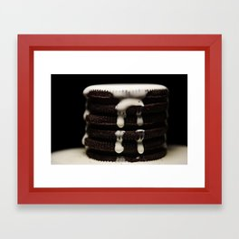 drippy stack vII Framed Art Print