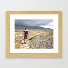 Where Do I Go? Framed Art Print