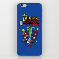 avenger iPhone & iPod Skins featuring Avenger Time by MattHercock