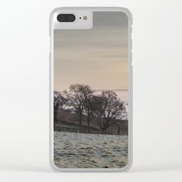 January Sunrise Clear iPhone Case