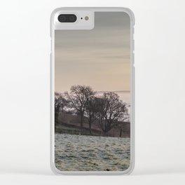 January Sunrise Clear iPhone Case