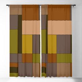 Mondrian #6 Blackout Curtain