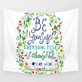Be Yourself Wall Tapestry