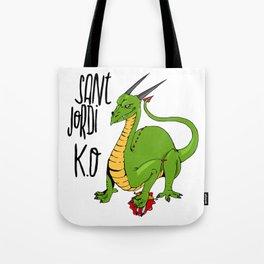 Sant Jordi K.O Tote Bag