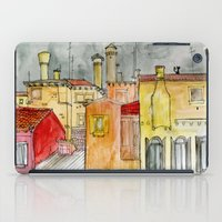 italian iPad Cases featuring Italian Street by Bunny Noir