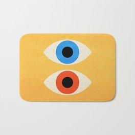 Eyes   Bauhaus III Bath Mat