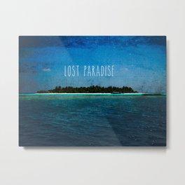 Lost Paradise Metal Print