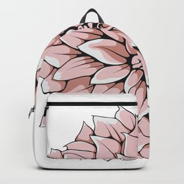 Big Georgina Flower Backpack