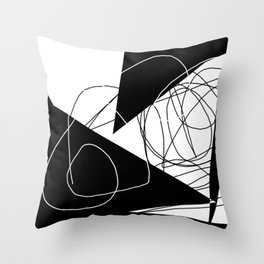 When Gladys Goes to Town Throw Pillow