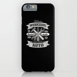 Auto Mechanic And truck Mechanic Gift Idea iPhone Case
