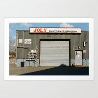 Joly Radiators Art Print