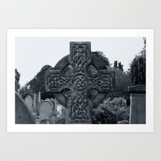 'CELTIC CROSS' Art Print