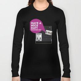 Keep Your Cassette Player Long Sleeve T-shirt