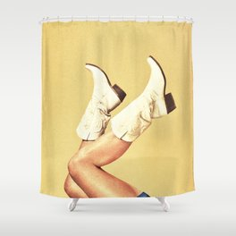 These Boots Shower Curtain