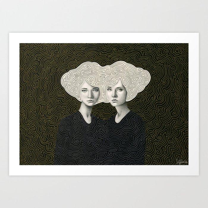 Orla and Olinda Kunstdrucke