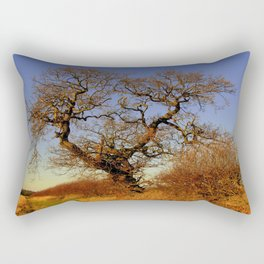 A NORFOLK HEDGEROW Rectangular Pillow
