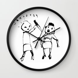 JEALOUSY Wall Clock