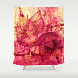 Hellebore Shower Curtain