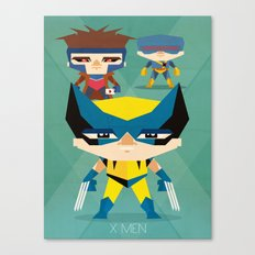 X Men fan art Canvas Print