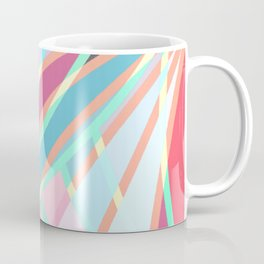 Girly Modern Abstract Geometric Pattern Coffee Mug