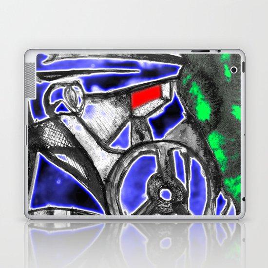 neon Soldier v1 Laptop & iPad Skin