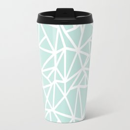 Ab Outline Thick Mint Travel Mug