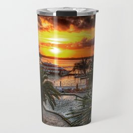 Sanibel Island Sunset Travel Mug