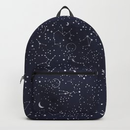 Galaxy Constallation Star Mystic Star Space Backpack