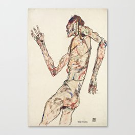 "Egon Schiele ""The Dancer"" Canvas Print"