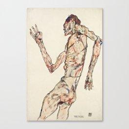 """Egon Schiele """"The Dancer"""" Canvas Print"""