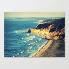 La Jolla Cliffs Canvas Print