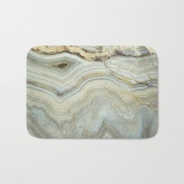 White Agate Bath Mat