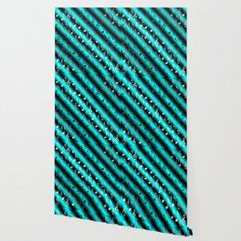 mint,blue,black,music, note, notes, ribbon, symbol, symbol, silver, pattern textile, f Wallpaper