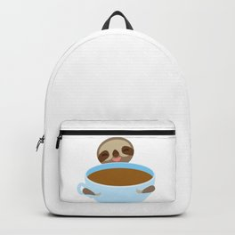 sloth & coffee Backpack