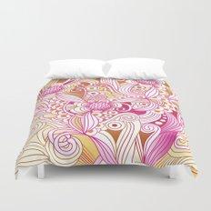 Flower fire Duvet Cover