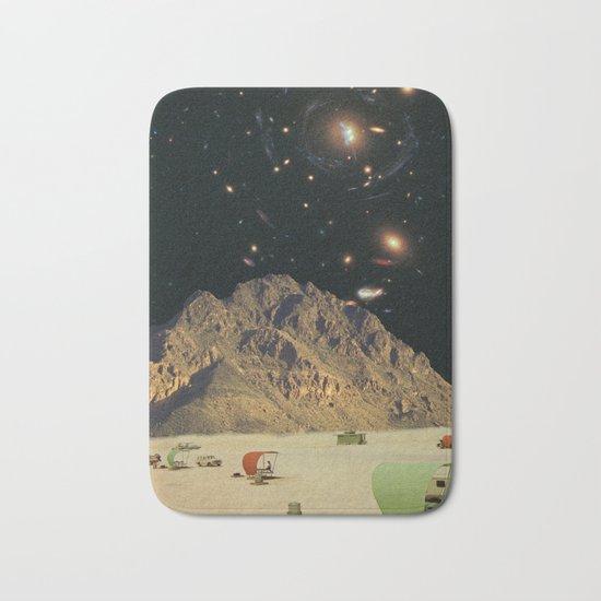 Space camping Bath Mat