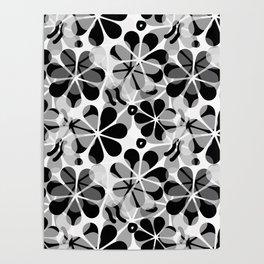 Flora Grey #society6 #buyart #decor Poster