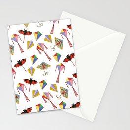 Kite Neck Gator Flying Kites Stationery Cards