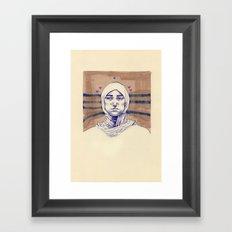 Untitled (Five Hearts) Framed Art Print
