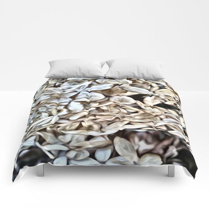 Dried Flowers Comforters