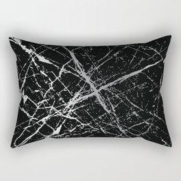 Silver Splatter 090 Rectangular Pillow