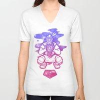 dreamcatcher V-neck T-shirts featuring Dreamcatcher by Jonah Makes Artstuff
