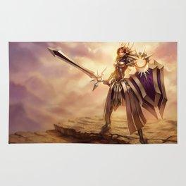 Classic Leona League Of Legends Rug