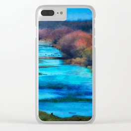 Monet's Rio Las Cruces New Mexico Clear iPhone Case