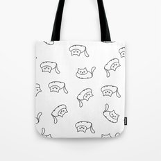 Fat cats pattern Tote Bag