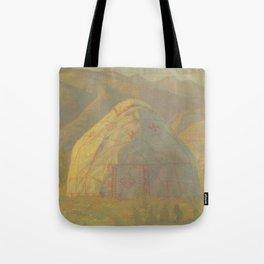 Yurt Tote Bag